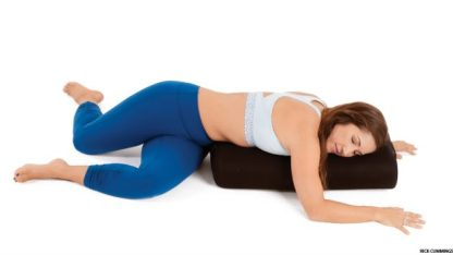 belly down yoga